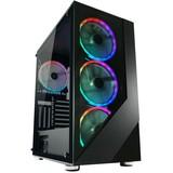 Gehäuse ATX Midi-Tower LC-Power Gaming 803B-ONRGB