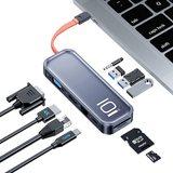 USB C-Hub Docking Station 10in1