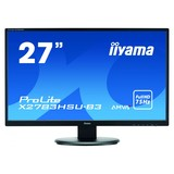 68,6cm/27 TFT-Color Iiyama X2783HSU-B3VGA/HDMI/Displayport