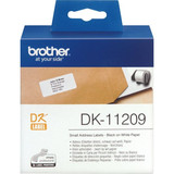 Papier Brother DK-11209Addressetiketten weiß, 62x29mm
