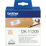 Papier Brother DK-11209Addressetiketten weiß, 62x29mm